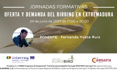 CÁMARA DE COMERCIO DE CÁCERES. OFERTA Y DEMANDA DEL BIRDING EN EXTREMADURA